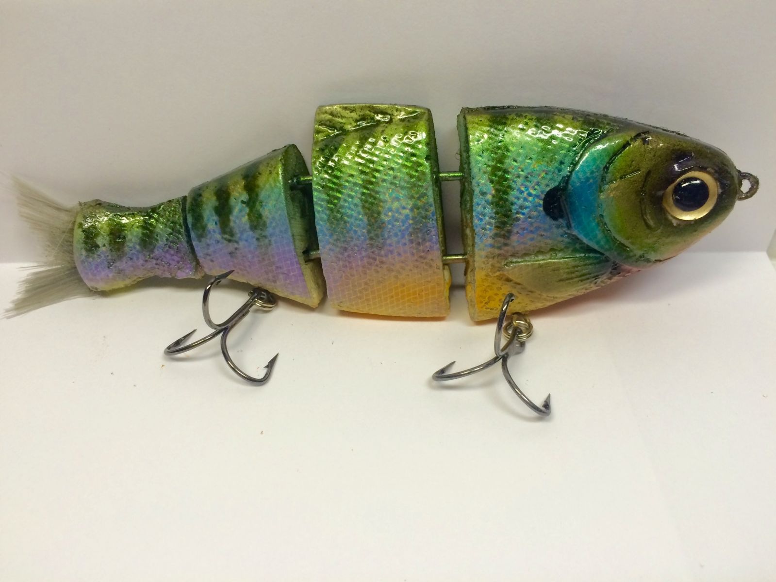 Foiled Bluegill Bullshad Swimbait