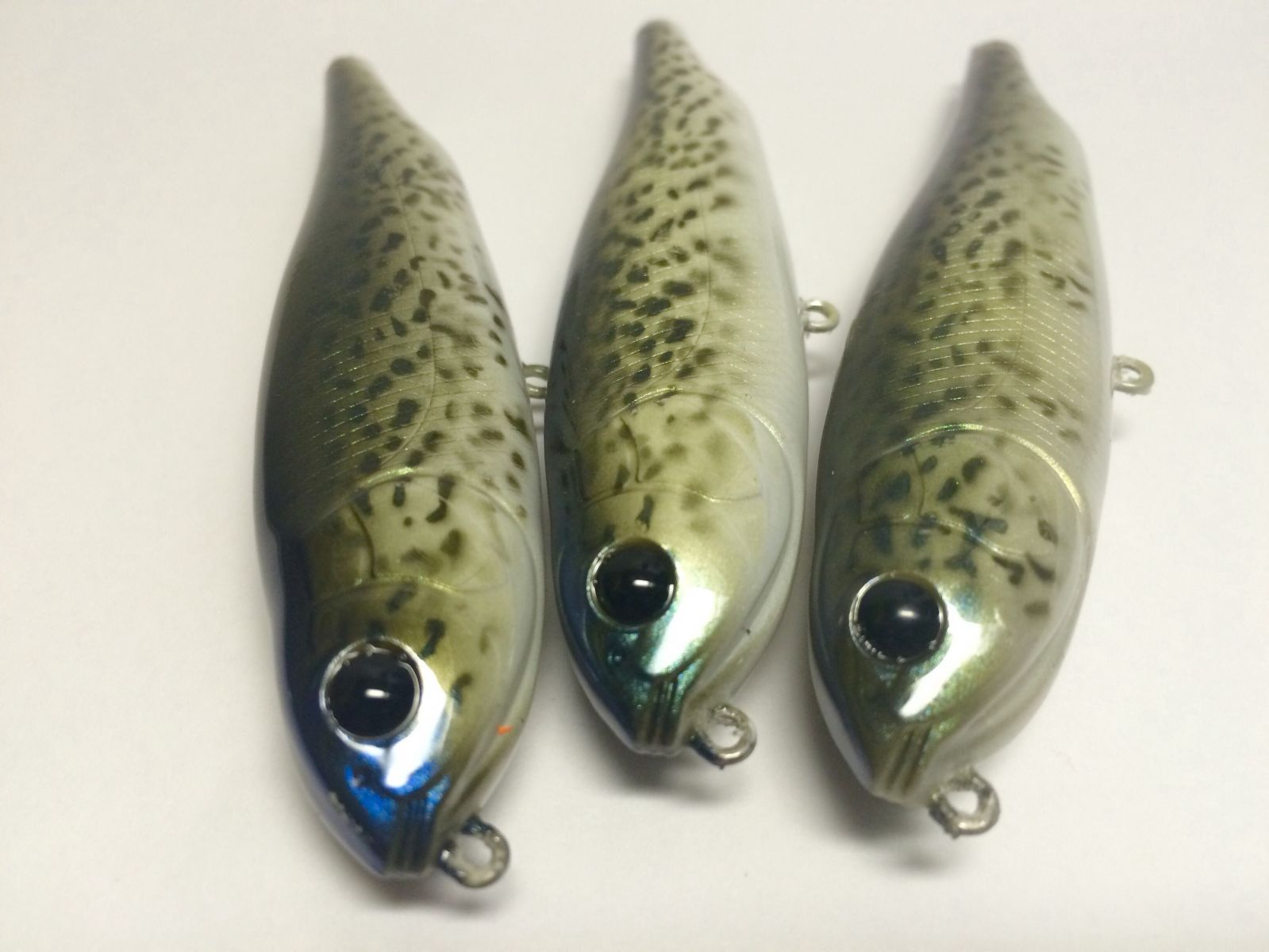 Black Crappie Dog-X Replica