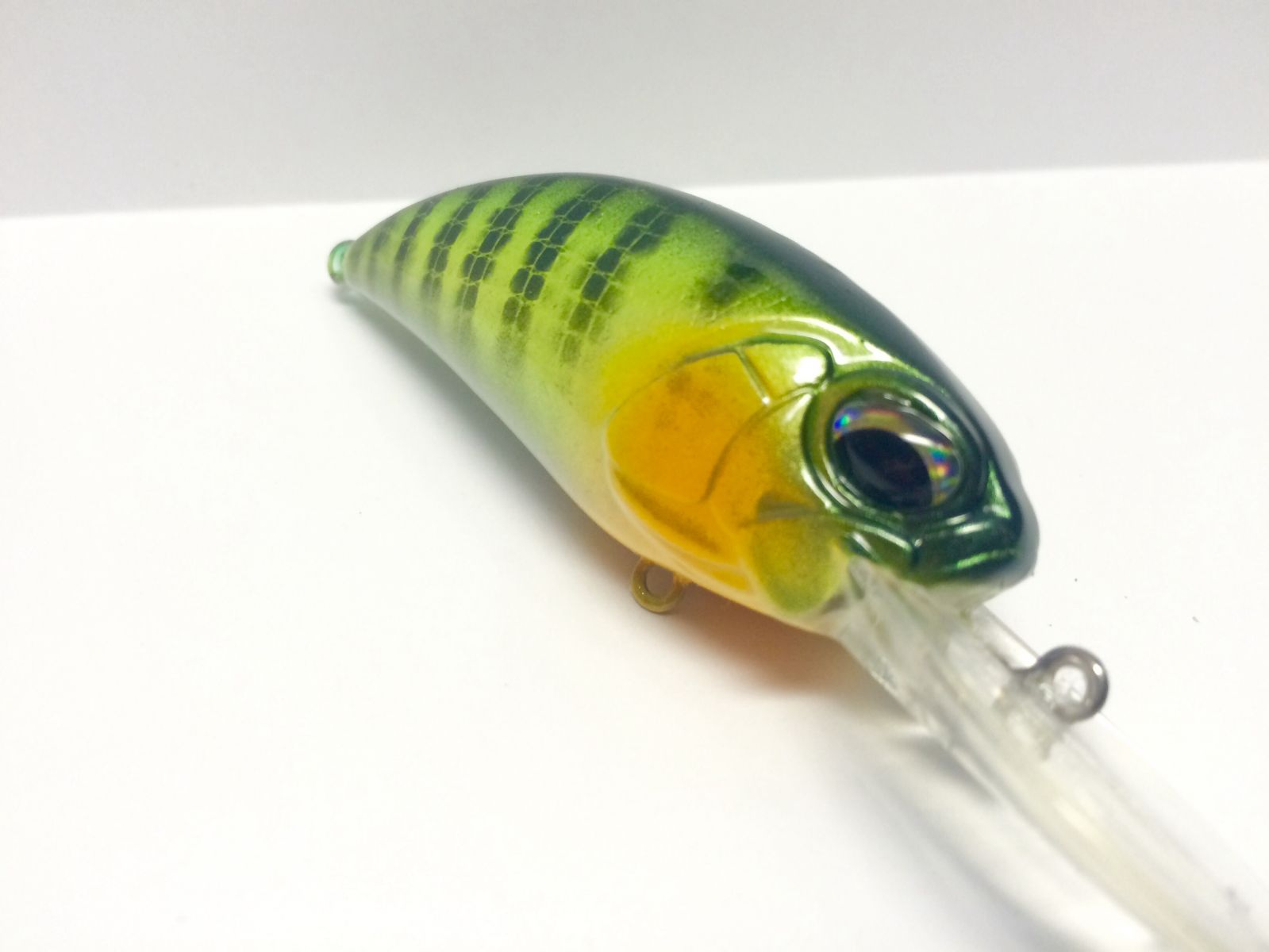 Chartreuse Perch Pattern on Duo Realis Replica