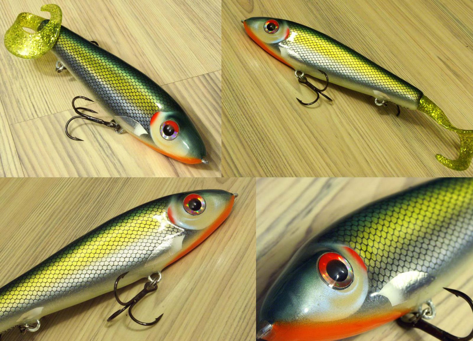 Jerkbait for pike and musky