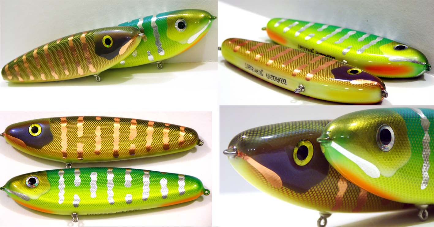 Jerkbaits for pike and muskies