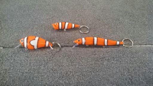 Nemo key chains for the Grandkid's