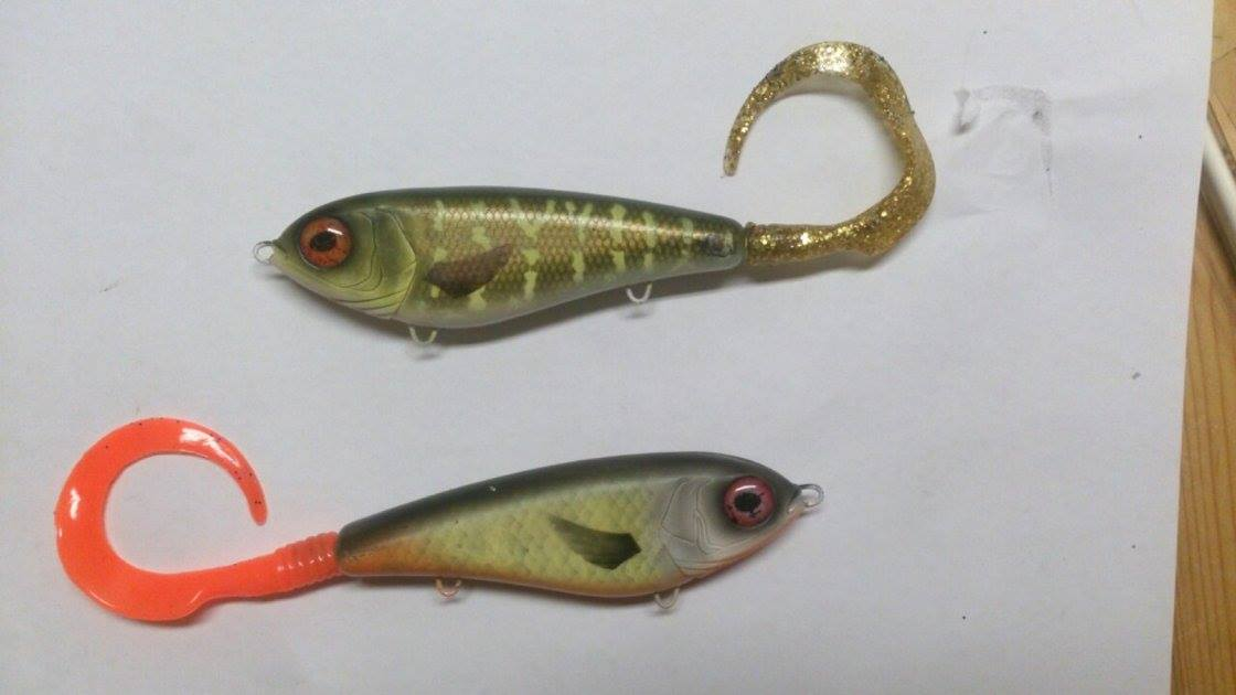 Jerbait tail gliders