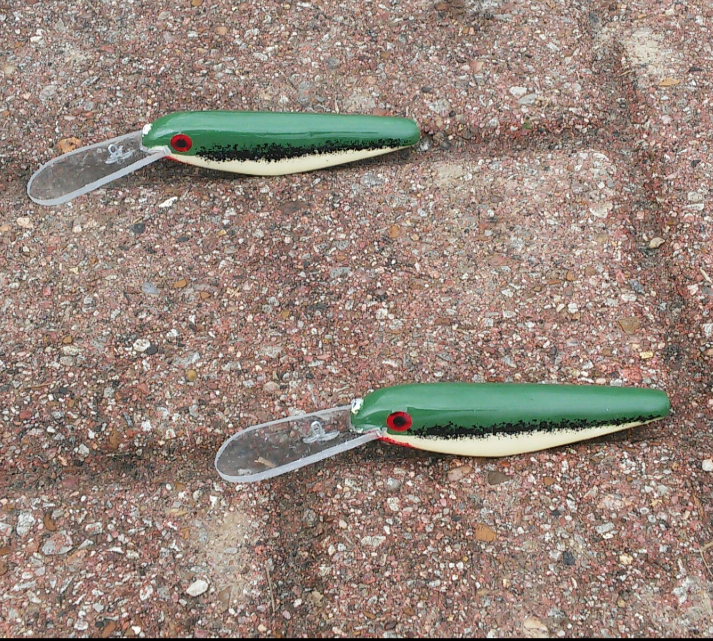 The Slip Crank Easy Minnow... Baby bass
