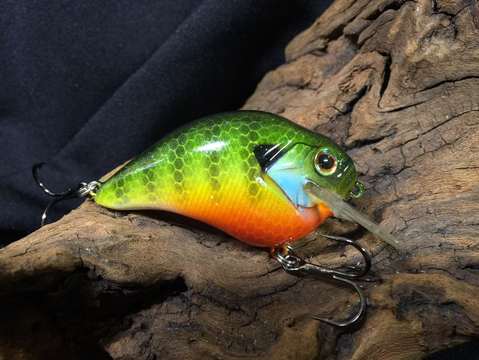 Blue Gill on a Megabass S-Crank