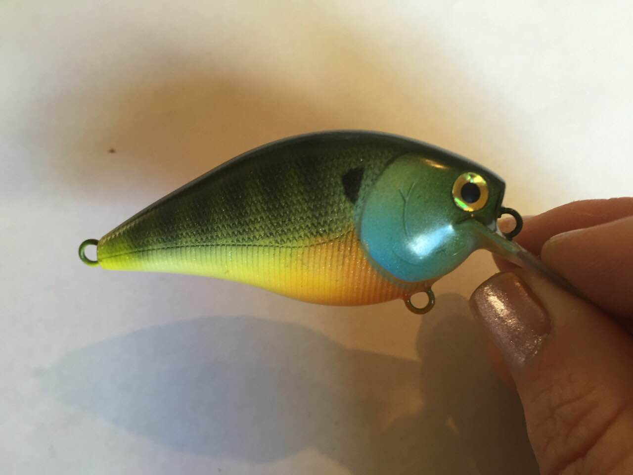 2.5 Blue Gill with epoxy