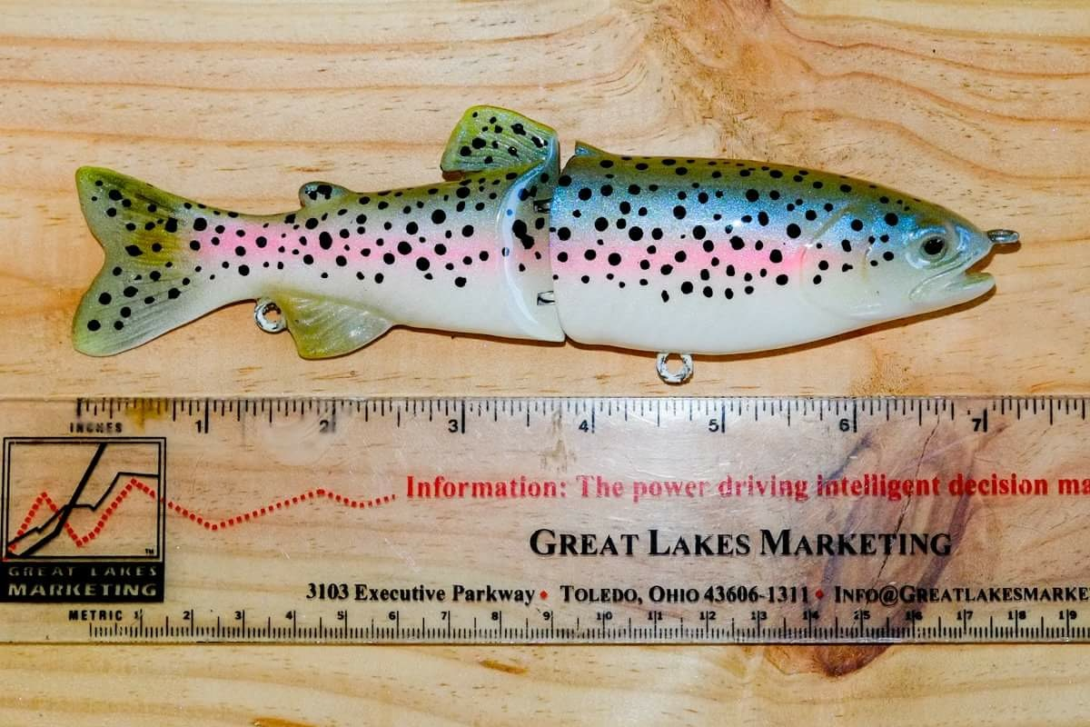 RAINBOW TROUT SWIMBAIT