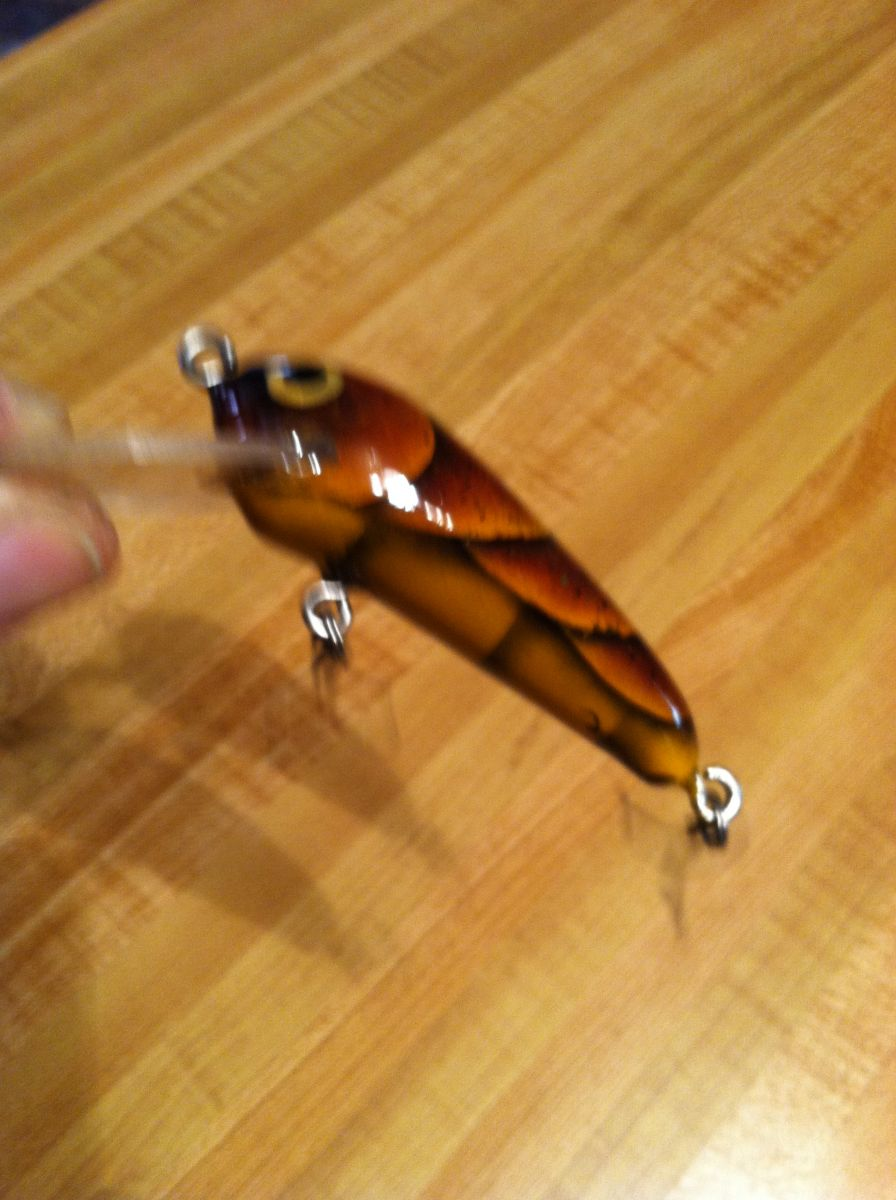 Gold brown craw