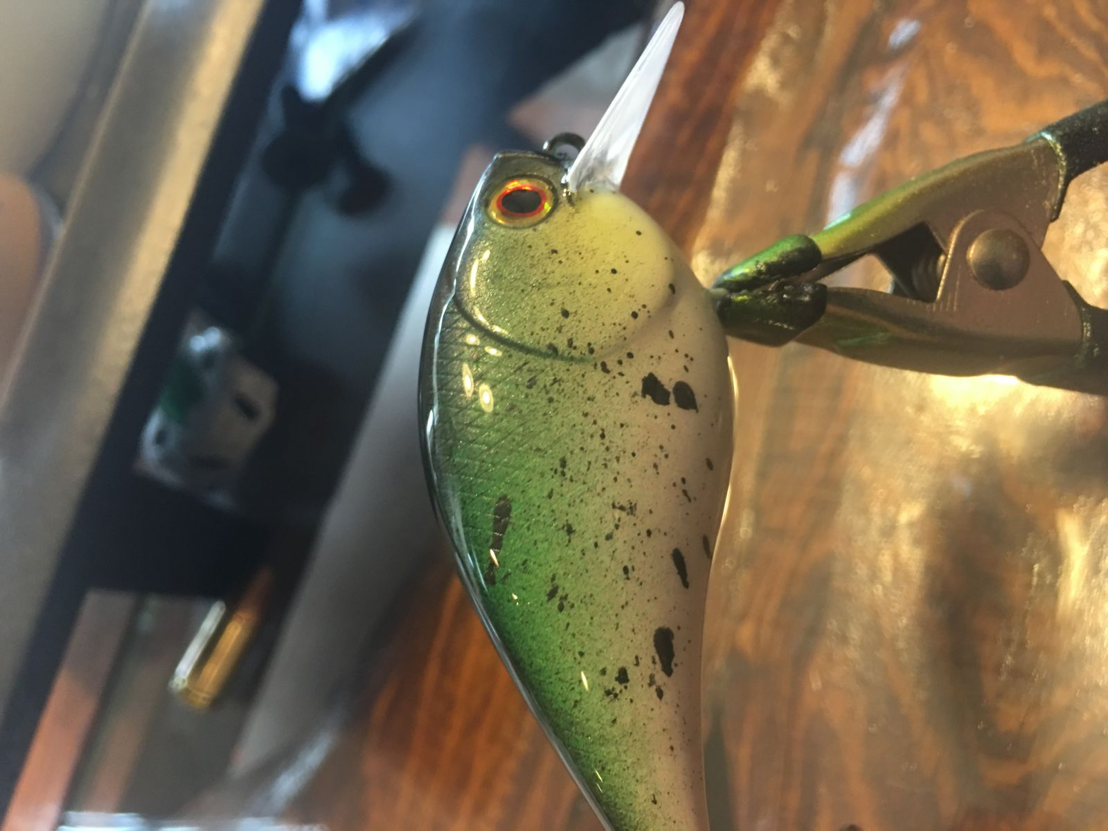 Splatter trout