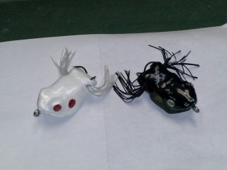two more PVC trimboard hard frogs