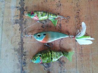 three bluegill baits2