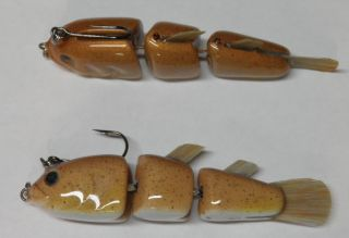 hand carved PVC Goby swimbaits