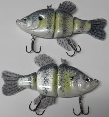 Hand Carved PVC Crappie