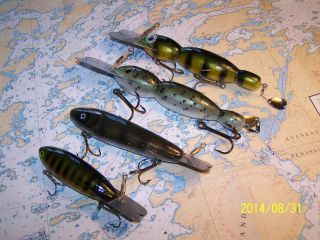 Bombers and Hellbenders 3 inches to 8 inches