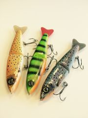 Jointed gliding Trout