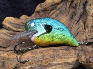 Fire n Ice on a Megabass S-Crank