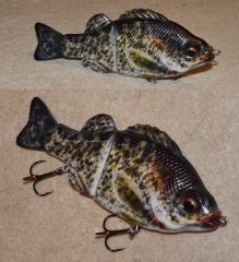 trying a crappie pattern