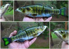 "10"" Deviant Bass glide bait"