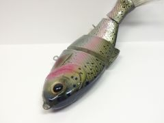 "Bull Shad Swimbait ""Rainbow Trout"""