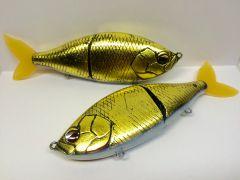 Gold Carp Foiled Swimbait