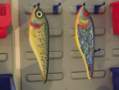 A couple of new jerk baits