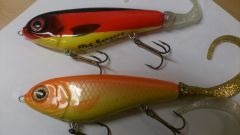 Custom Jerkbait tail Gliders