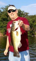 7.8 lbs Lake Monticello Pig