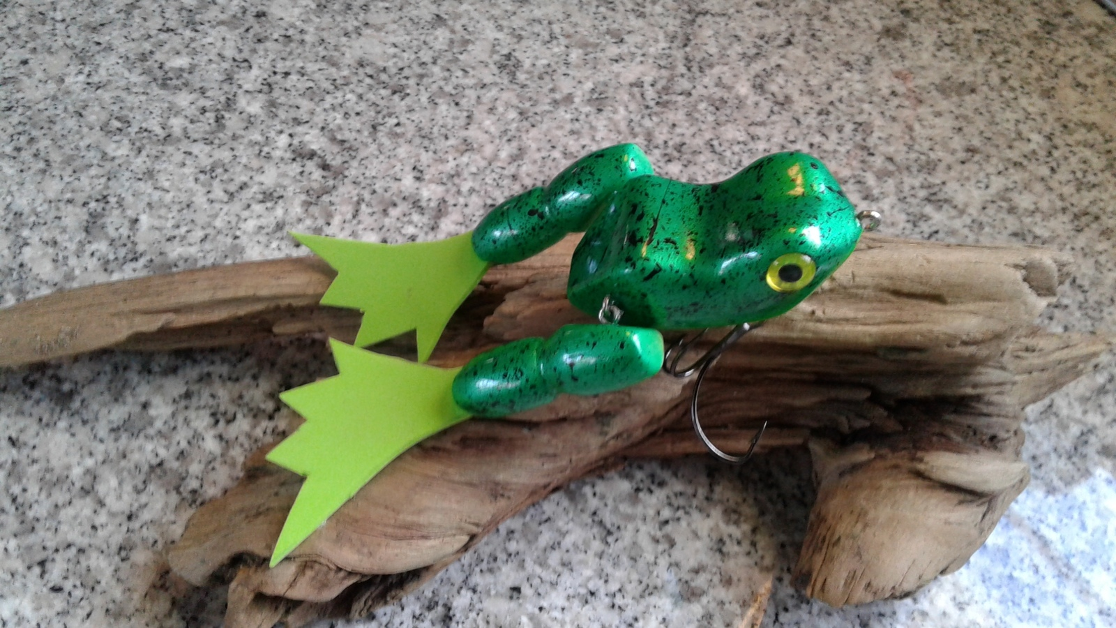 Top water frog
