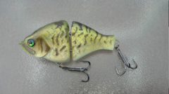 Jointed Crappie Swimbait