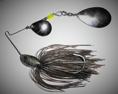 "1/2oz ""Mouse"" pattern spinnerbait"