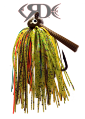 Red Dirt Lures - watermelon-orange-candy JIG