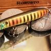 Neon Blue Gill by Robusto Custom Lures in Shower Blower top Water