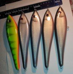8 inch meranti gliders