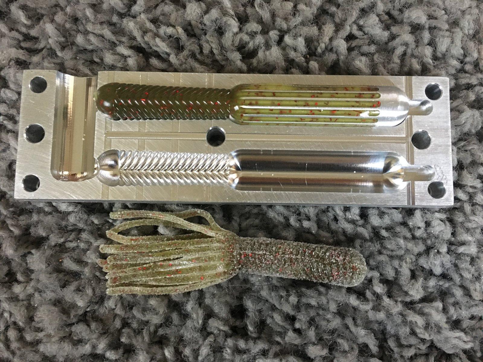 basstackle 910 tube mold