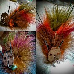 Maribou chatterbait - The Muskrat