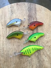 Carved baits
