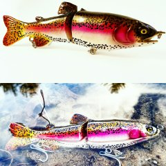 2nd - Rainbow Trout By Venutian_Lures