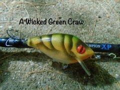 Crayfish'ish sort of crank bait