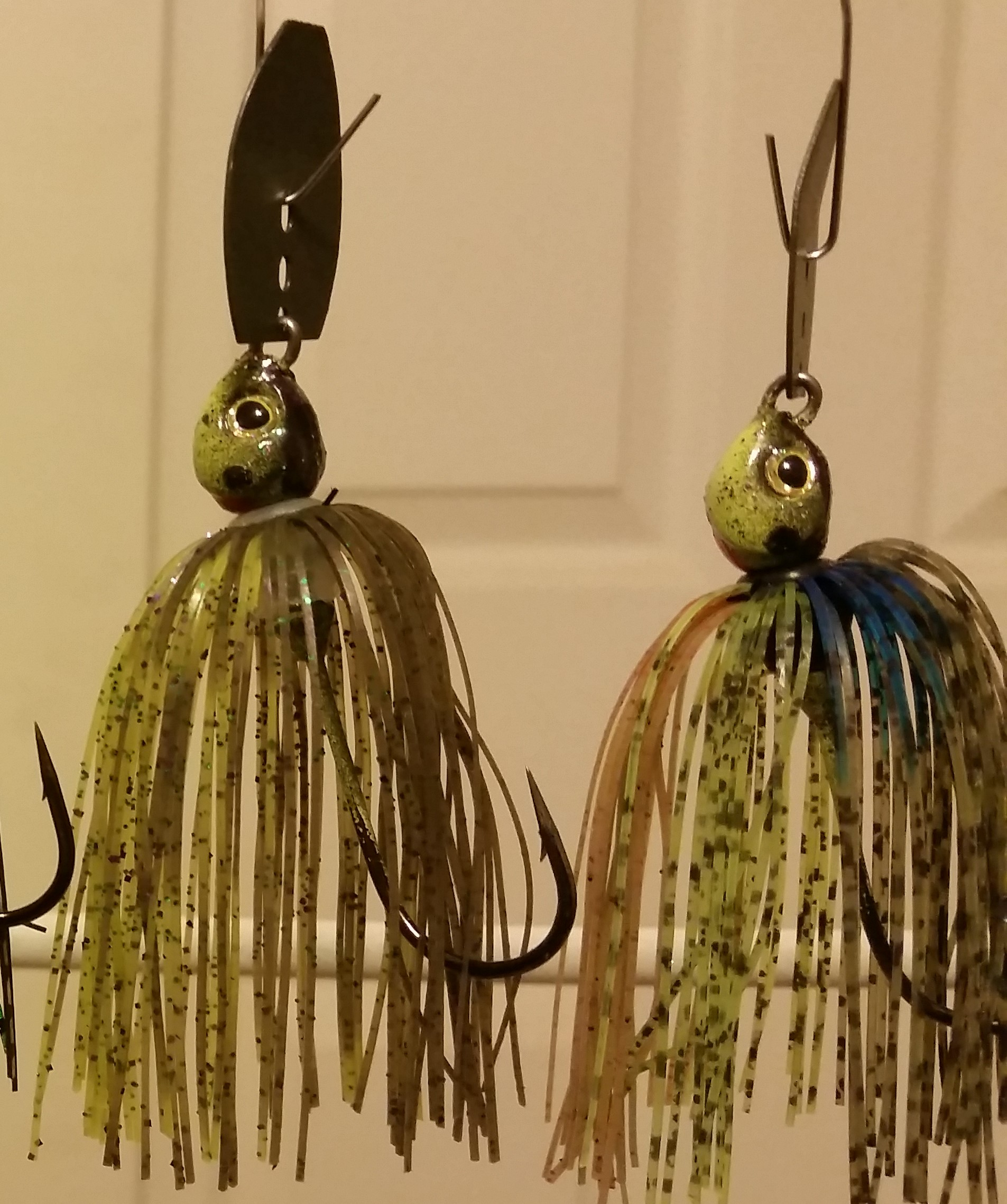 Chatter bait jig selection - Wire Baits - TackleUnderground com