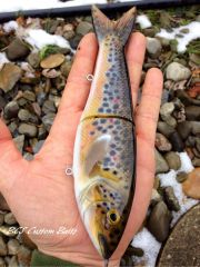 Brown trout swim bait