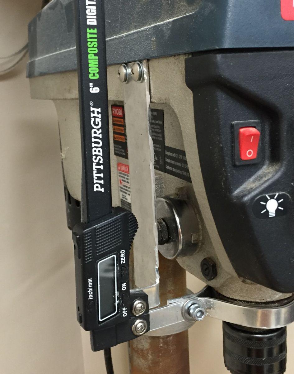 Drill Press Mod