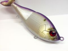"""Pearl Over Foil """"American Shad"""" Glide Bait"""