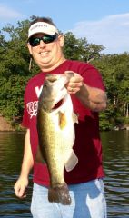 7.8 lbs Lake Monticello Pig