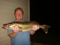 biggest walleye on one of my Lures