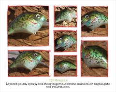"HDH Crappie on ""S"" Crank collage"