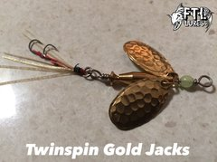 FTL Lures Twinspin Gold