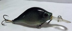 BABY CRAPPIE BALSA WOOD HAND CARVED.