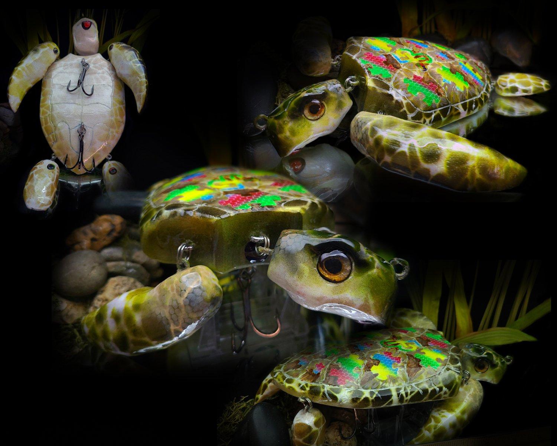 Autism Awareness Balsa Turtle (Hand Carved).jpg